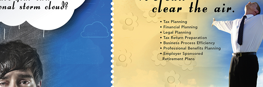 Financial Planning Business Advisory Mailer