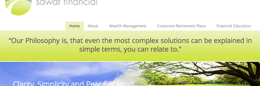 Wealth Management Site Design and Development